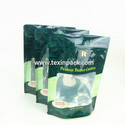 Stand Up See Through Plastic Bags With Zipper