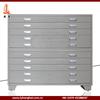 Grey steel plan office drawing cupboard metal drawing storage cabinet, metal storage cabinet locking, industrial storage cabinet