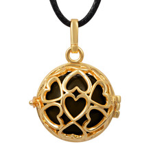 2015 New Design Love Peace Pendant Family Gift Fashion Jewelry in Europe Pregnancy Gift for Lady Harmony Bola H197A02