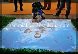 Interactive Floor Projection System All-in-one Systerm for Advertising