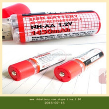 Hign quality and good price USB AA 1.2v recharge Battery