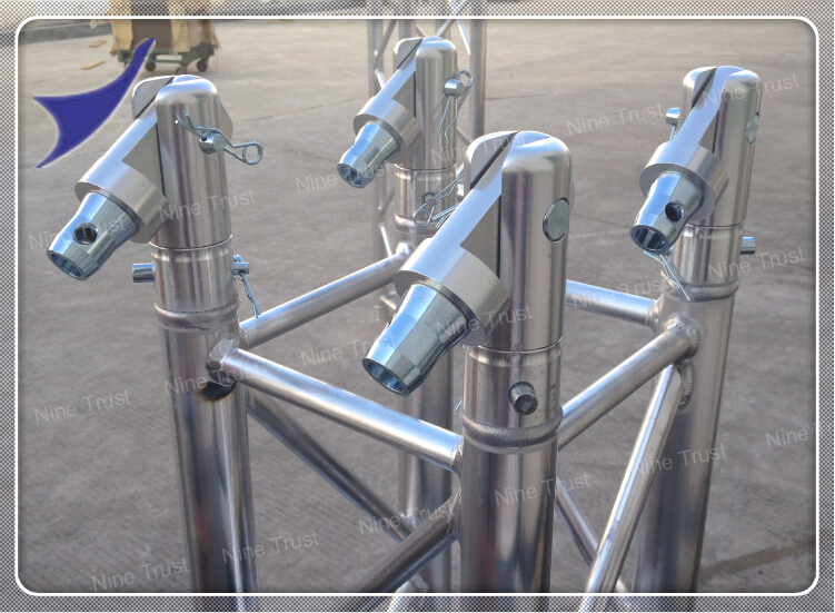 4 290x290mm aluminum truss detailed images for Cheap truss systems
