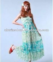 2012 fashion Bohemian ethnic trend shivering women's dress