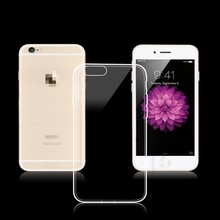 Ultra thin Transparent case for iPhone5 TPU slim fit for iphone6 plus case