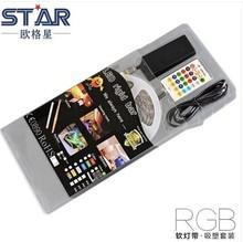 Blister pack Fitas de LED 5050 RGB 60led 72w DC12V IP65 5meters