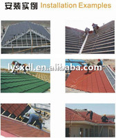 Waviness Stone Coated Roof Tile/Aluminum Zinc Roofing Shingle/Colorful Sand Coated Steel Roof