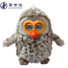 electronic plush toy,best gift for kids--Hibou OWL