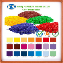 Hot Sale PE Color Masterbatch For Plastic Shopping Bag
