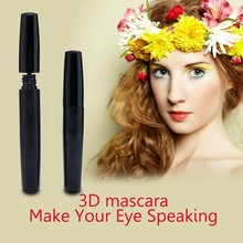 2015 Best 3d Fiber Lash Mascara Water proof Volume Alternative to extensions and false eyelashes best gift for woman