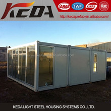 new design container shop foldable shop container mobile shop container