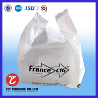 Shenzhen factory price printed perforated t shirt shopping plastic bags wholesale now