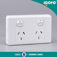 SAA touch light switch electrical horizontal power point