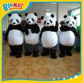 venta caliente en enero de marca nueva Poppy traje de la felpa de la panda adulto