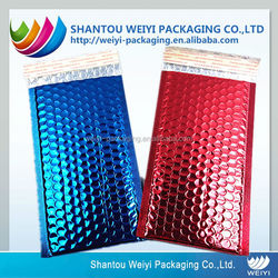 China cheap printed air bubble film bag for protective