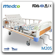 M205 New product two functions manual hospital bed for patients sale made in China