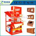 Construção de equipamentos eco master 7000 máquina de fazer tijolos de barro/máquinas de fazer tijolos ecológicos