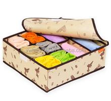 Popular Eco-Friendly Foldable Storage Box For Towel,Underwear,Socks,Scarf