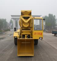 3.5 cbm 4*4 Self Loading LYJZY3500 Concrete Mixer Truck