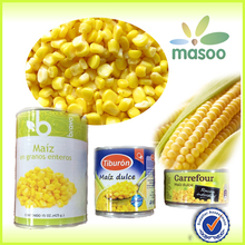 IQF frozen food vegetables chilled and canned whole kernel sweet corn frozen food