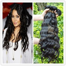 new unprocessed brazilian malaysian lace closure with weft 100% human hair bundle