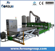 best quality auto loading and unloading cnc router for furniture
