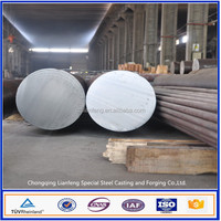 China tradeing company hot forged round steel bars H13