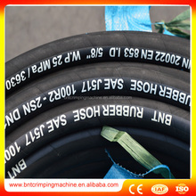 SAE 100R2AT 1 inch rubber hose black in factory price