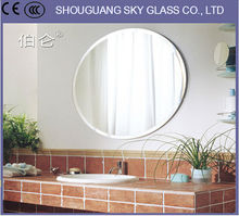 2mm-6mm Antique Mirror, Motorcycle Mirror, Wash Basin Mirror Cabinet With CE Certificate