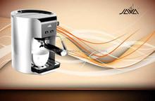 JAVA Barista Express Manual Coffee Machine silver