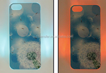 Alibaba China Supplier Sublimation LED Phone Case for iphone 5S