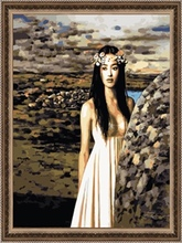 40*50cm factory price modern nude painting, sexy oil painting