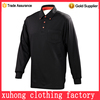 Custom made polo sports shirt with mens long sleeve polo shirt with pocket