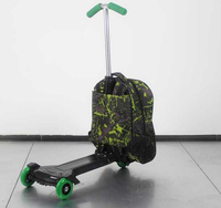 Carton print toy bag for kids,scooter backpack,kids scooter backpack