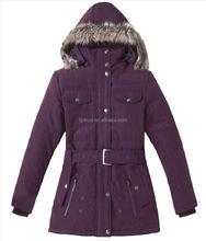 2015 woman long winter jacket varsity jacket woman long shinny hoody jackets