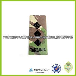 ombro militar vestuário bordado de velcro no patch