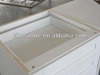 Prefab Modular white Maple Wood Cabinet With Four Drawers