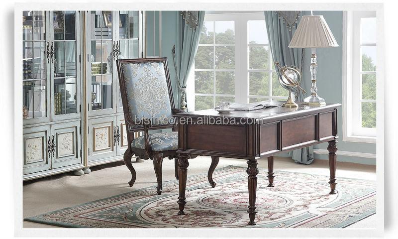 American style klassische büromöbel set, retro möbel mit ...