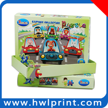 Cartoon Animal Jigsaw Puzzle Paper Toy Car