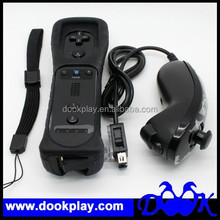 For Wii Remote Controller Motion Plus with Nunchuk