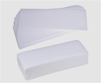 Nonwoven Depilatory Wax Paper Strips used for removing hair from body 100g