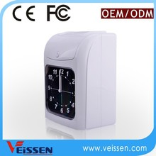 Widely used in all fields punch card time recorder attendance machine