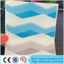 Factory dots circle transparent stickers made in China ablibaba