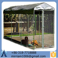 Outdoor customizable new design practical well-suited low price large dog kennel/pet house/dog cage/run/carrier