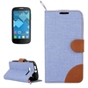Top quality Flip leather mobile phone case for alcatel one touch pop c5 case cover