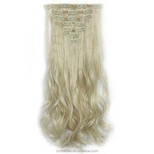 Clip in Hair Extensions Heat Resistant Straight Long Hair Pieces Synthetic Hair 7pcs/Set/130gram
