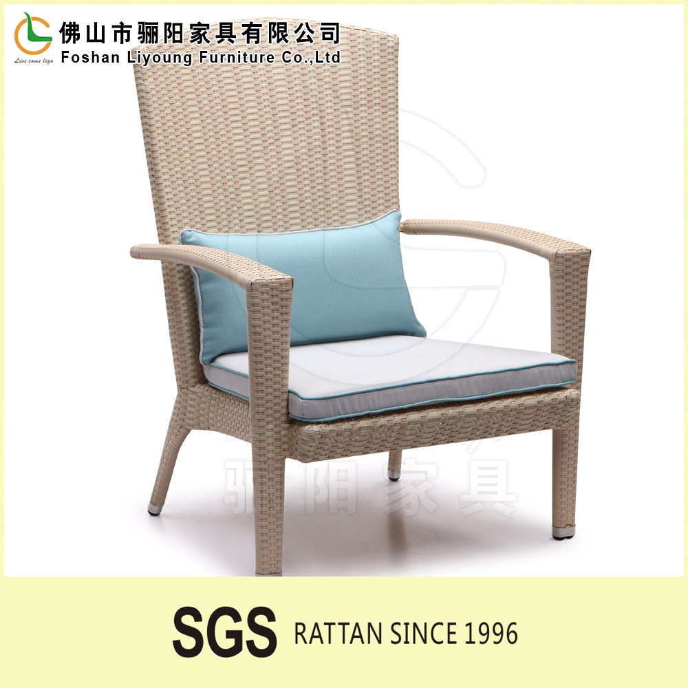 2015 Modern Outdoor Furniture Garden Pe Plastic Wicker Patio Sofa Set Cushion For Rattan Chair