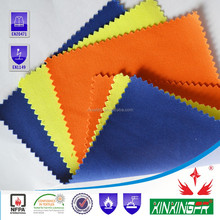 EN11612 certificate 260gsm 100 cotton fire retardant water repellent fabric for welding clothing