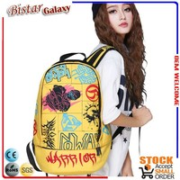 wholesale eco-friendly waterproof school bags for college students active school bags canvas backpack BBP403