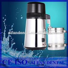Dental aifan venta caliente af-wd11 portátil destilador de agua de acero inoxidable máquina de agua destilada