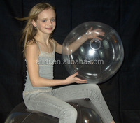 Hot fashionable lovely best quality cheap pvc Crystal Clear Beach Ball